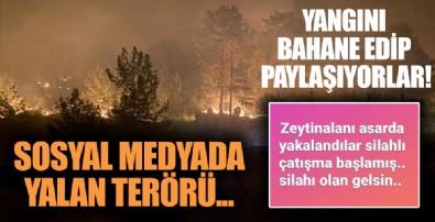Muğla'daki orman yangınında yalan terörü: 'Çatışma çıktı silahı olan gelsin'