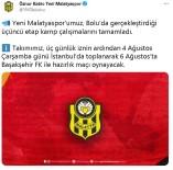 Yeni Malatyaspor, 3. Etap Kamp Çalismalarini Tamamladi