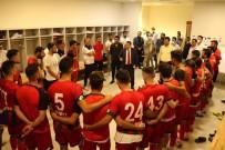 ÇEYREK FİNAL - Belediye Baskaninin Rakip Takimin Oyuncularina Basarilar Dilemesi Taktirle Karsilandi