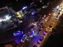TRAFİK POLİSİ - Düzce'de Zincirleme Trafik Kazasi Açiklamasi 6'Si Çocuk 15 Yarali