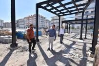 TRAFİK SORUNU - Karatay'da Trafik Egitim Parki'nin Yapimi Sürüyor