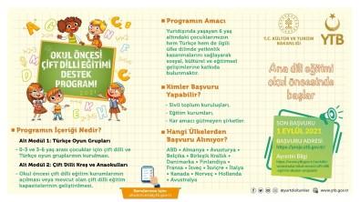 YTB'den Yurt Disinda Türkçe Egitim Veren Kurumlara Destek