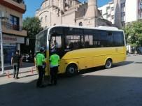 TRAFİK POLİSİ - Aksaray'da Toplu Tasimada Trafik Güvenligi Uygulamalari Sürüyor