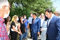 MUHALEFET PARTİLERİ - Gürkan'dan Basören Mahallesine Ziyaret