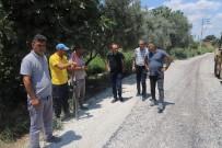 HAFTA SONU - Turgutlu Belediyesi Asiri Sicaklara Ragmen Sahada Çalismalarini Sürdürüyor