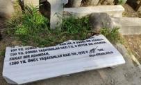 PROVOKASYON - Yazar Hüseyin Nihal Atsiz'in Mezarina Saldiri