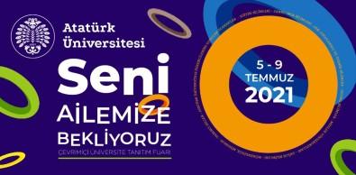 Atatürk Üniversitesinde Çevrim Içi Üniversite Tanitim Fuari Basladi