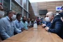 AZERBAYCAN - Bakan Karaismailoglu, Ankara Lojistik Üssü'nde Sektör Temsilcileri Ve Nakliyecilerle Ile Bir Araya Geldi