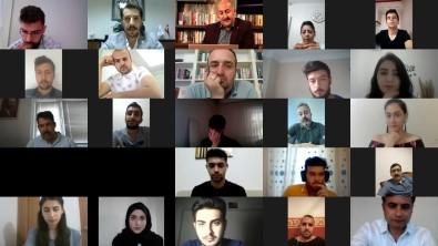 Baskan Türkyilmaz, Ögrencilerle Video Konferans Sistemi Üzerinden Toplanti Yapti