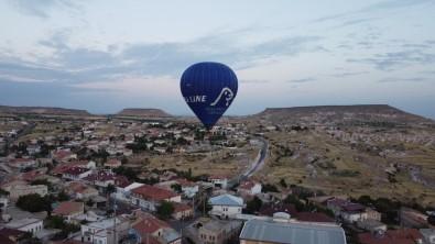 Çat Kasabasinda Bu Sabah Ilk Balon Turu Yapildi