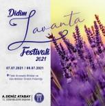 FESTIVAL - Didim 'Lavanta Festivali'ne Sayili Saatler Kaldi
