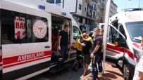 POLİS EKİPLERİ - Kamyonet, Otomobile Çarpti Açiklamasi 3 Yarali
