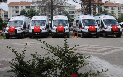 Kirsehir'e 5 Yeni Ambulans