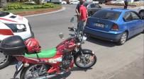 DEVRIM - Motosiklet Ile Otomobil Çarpisti Açiklamasi 1 Yarali