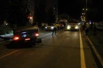 POLİS EKİPLERİ - Nevsehir'de Agaçlara Çarpan Otomobil Takla Atti Açiklamasi 4 Yarali