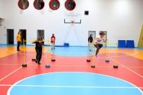 BASKETBOL - Spor Sinavlarina Girecek Ögrenciler Burada Hazirlaniyor