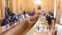 MİLYAR DOLAR - TBMM Baskani Sentop, Senegal-Türkiye Parlamentolar Arasi Dostluk Grubu'nu Kabul Etti Açiklamasi