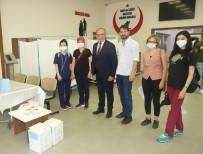 BİONTECH - Turgutlu Belediyesi Hizmet Binasinda Asi Uygulamasi Devam Ediyor