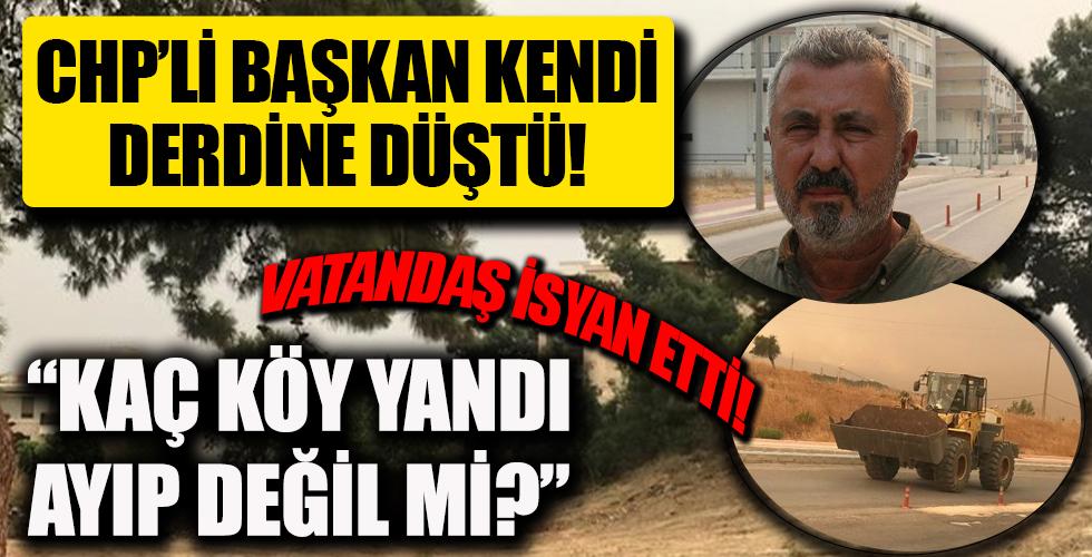 Antalya Manavgat cayır cayır yanarken CHP'li Başkan Şükrü Sözen kendi evinin derdine düştü