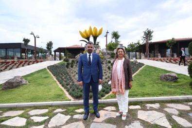 Kültür Ve Turizm Bakani Yardimcisi Yavuz'dan Pursaklar Belediye Baskani Çetin'e Ziyaret