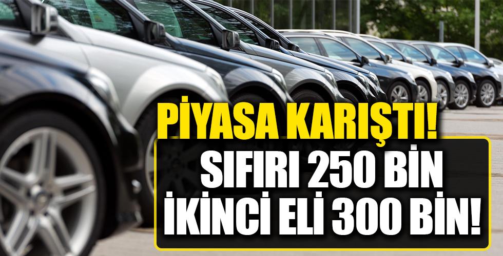 İkinci el fiyatları, sıfır araçlarla yarışıyor!