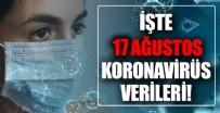 17 Ağustos koronavirüs verileri açıklandı! İşte Kovid-19 hasta, vaka ve vefat sayılarında son durum