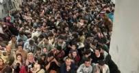 Taliban'dan kaçış: Kapılar kapanırken son anda bindiler! 150 kişilik uçakta 640 kişi...