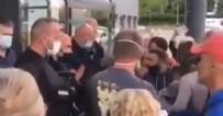 Fransa'da skandal görüntüler! Aşı karşıtları polisle karşı karşıya! Markete alınmadılar