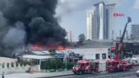 İstanbul'da restoran alev alev yandı!