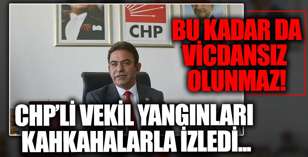 CHP'li Vekil Budak hakkında skandal iddia! Yangınları kahkaha atarak takip etti...