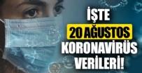 Sağlık Bakanlığı 20 Ağustos 2021 koronavirüs vaka, vefat ve aşı tablosunu paylaştı