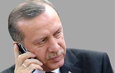Cumhurbaskani Erdogan, Avrupa Birligi Konseyi Baskani Michel Ile Telefonda Görüstü