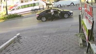Trafik Magandalari Güvenlik Kamerasina Yakalandi