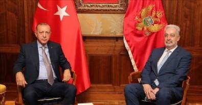 Erdoğan, Karadağ Başbakanı Krivokapiç'i kabul etti