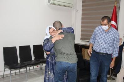 Ikna Yoluyla Teslim Olan PKK'li Ailesiyle Bulusturuldu