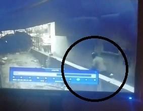 Motosiklet Hirsizi Kameralara Yakalandi