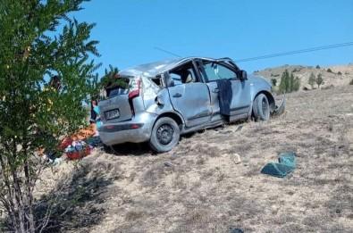 Gümüshane'de Trafik Kazasi Açiklamasi 1 Ölü, 4 Yarali