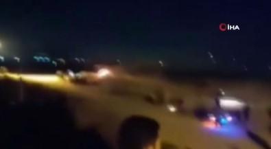 Israil Güçleri Protestoya Müdahale Etti