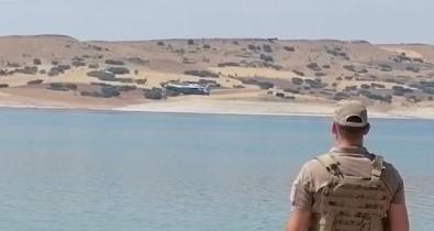 Jandarma Nöbet Tuttu, Yangin Söndürme Uçagi Barajdan Su Takviyesi Yapti