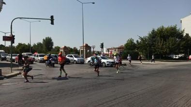 Kosu Maratonundaki Dalginlik Sürücüleri Çileden Çikardi
