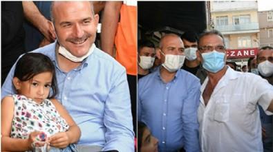 Selzedelerden Bakan Soylu'ya sevgi seli: İlk defa bir İçişleri Bakanı köyümüzü ziyaret ediyor