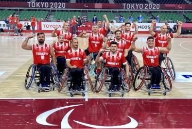 Tekerlekli Sandalye Basketbol Milli Takimi Tokyo'da Çeyrek Finalde