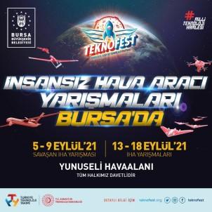 TEKNOFEST 2021 IHA Yarislari Bursa'da Yapilacak