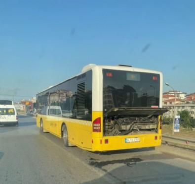 Ümraniye'de İETT otobüsü arıza yaptı