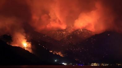 Bodrum'da yangın ilerliyor! Yerleşim yerleri tahliye ediliyor...