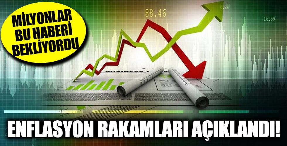 TÜİK Temmuz ayı enflasyon rakamlarını açıkladı!