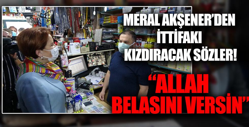 Vatandaştan Meral Akşener'e sert tepki!