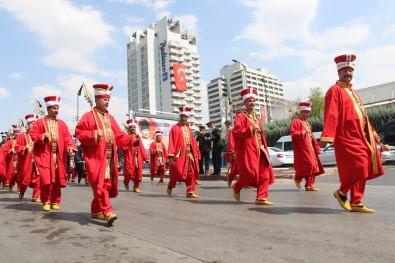 Baskentte 30 Agustos Zafer Bayrami Yürüyüsü