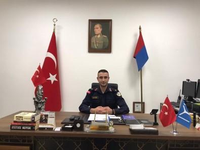 Bilecik Merkez Ilçe Jandarma Komutani Tegmen Akyüz Terfi Aldi