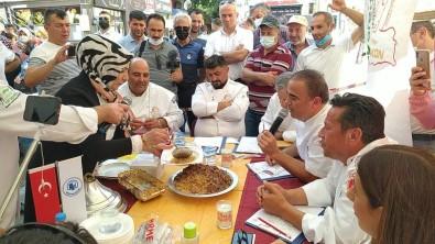 Çorum'daki Festivalde Yöresel Tatlar Yaristi
